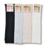 綿絹二重編サポーターロング フリーサイズ